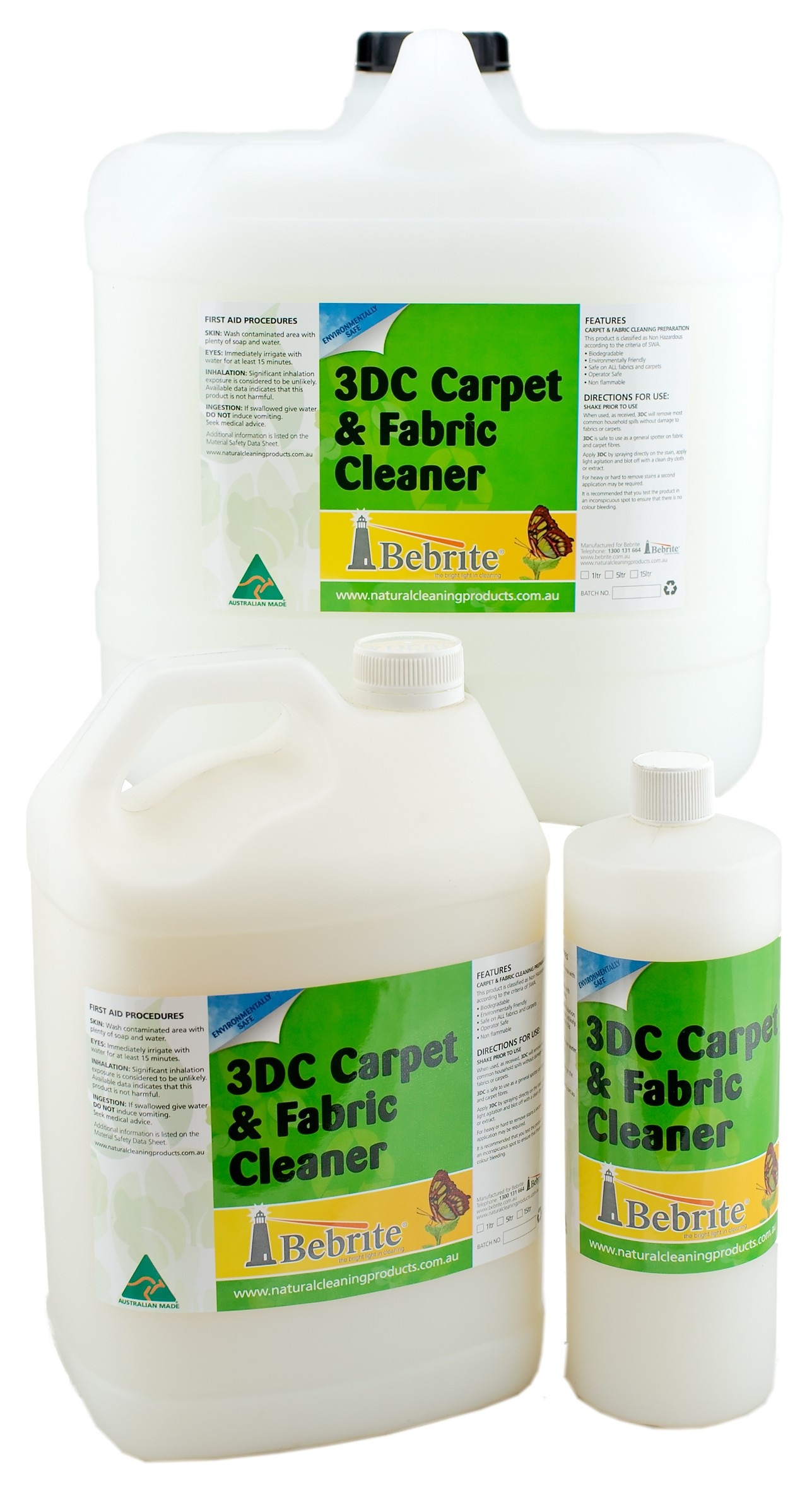 3DC Concentrate Carpet & Upholstery Spot Cleaner